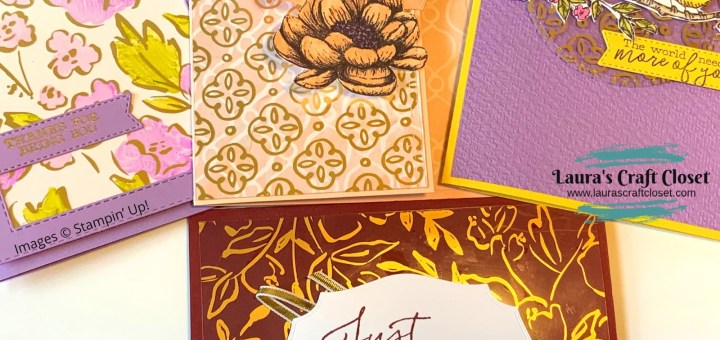 Golden garden specialty acetate DSP stack stampin up