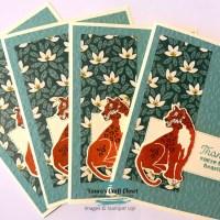 Soft Succulent Wild Cats Card