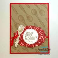 Repeated Spoon Background Card