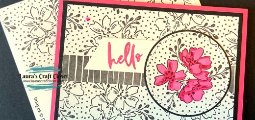 Polished Pink Penned Card In-Color 2021-2023 Beautifully Penned DSP SAB