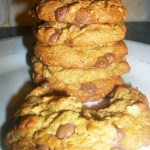 Gluten free Flourless Chocolate Chip Cookies