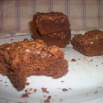Gluten free Raspberry Brownies