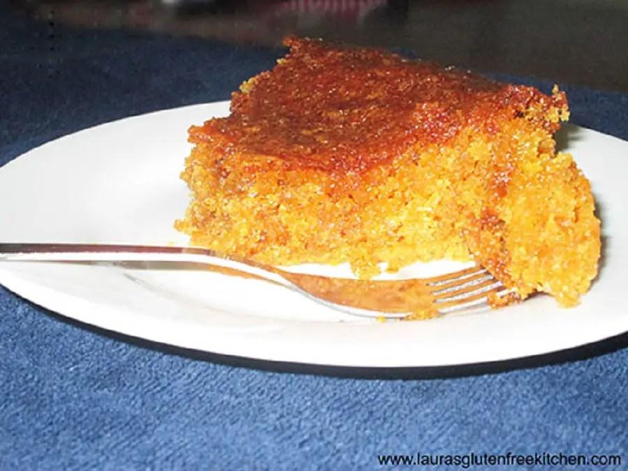 Gluten Free Golden Syrup Cake