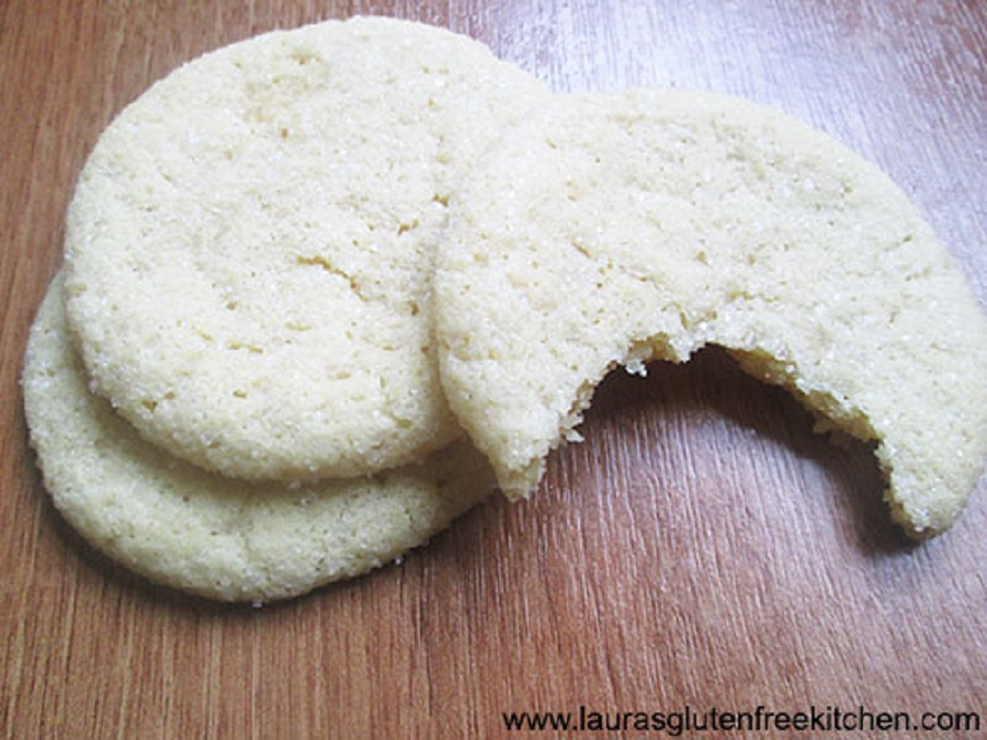 Chewy Gluten Free Sugar Cookies
