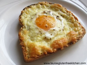 cheese and egg toast