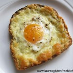 Gluten Free Cheese and Egg Toast