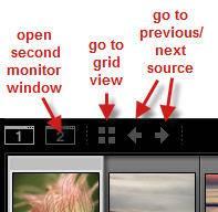 Lightroom Filmstrip Shortcuts