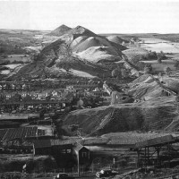 Wide view of Aberfan Disaster