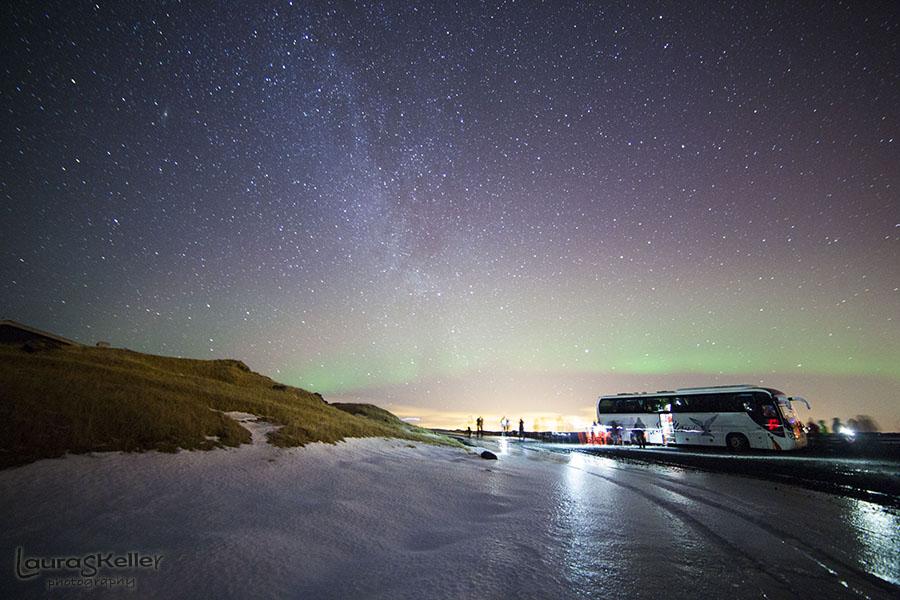 Iceland Series: Northern Lights over Pingvellir National Park