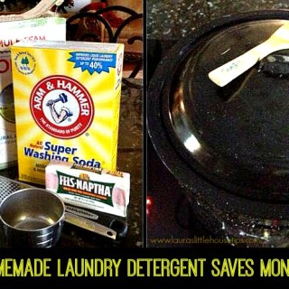 Homemade Laundry Detergent-Frugal & Easy #Recipe