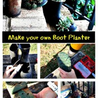 Make your own Boot Planter