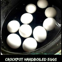 Crock Pot Hard Boiled Eggs