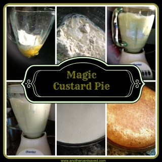 Magic Custard Pie: My Mom's Recipe