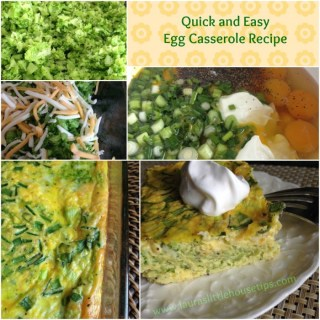 Quick and Easy Egg Casserole Recipe