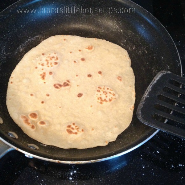 Homemade Sourdough Tortillas Recipe www.lauraslittlehousetips.com