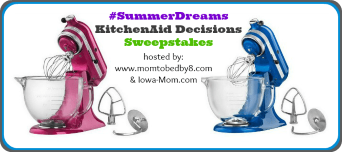 KitchenAid Decisions Sweepstakes