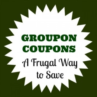 Being Frugal with Groupon Coupons #sp