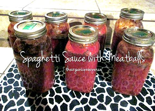 11 - spaghetti-sauce-with-meatballs http://www.theorganicprepper.ca/canning-spaghetti-sauce-with-meatballs-grocery-store-version-08132013