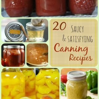 20 Saucy & Satisfying Canning Recipes