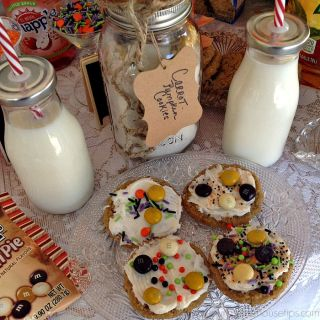 Cookies in a Jar – Cookie Bar – Fall Party