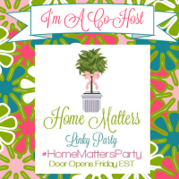 Home Matters Linky Party #58