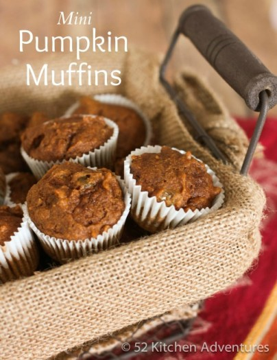 Mini-Pumpkin-Muffins 52kitchenadventures