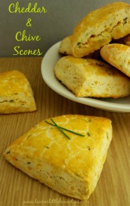 Cheddar and Chive Scones4