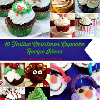 10 Festive Christmas Cupcake Recipe Ideas