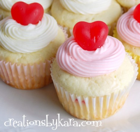 10 Fun & Creative Valentine Cupcake Recipe Ideasval3