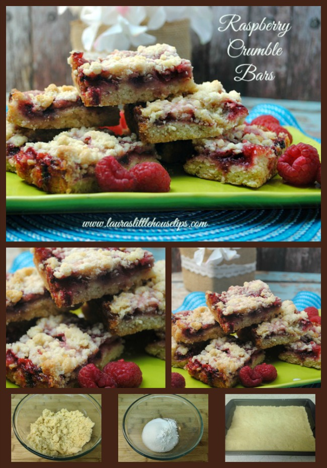 Raspberry Crumble Bar Recipe