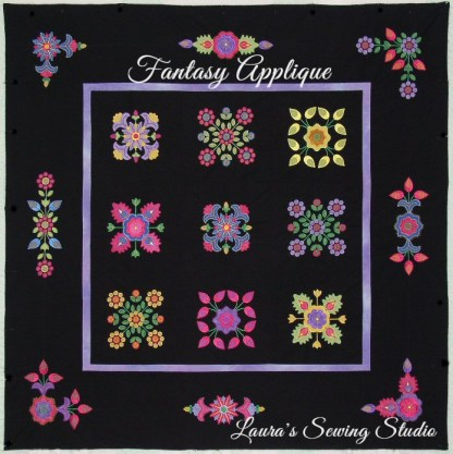 Fantasy Applique Sampler Quilt