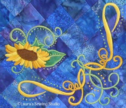 Summer's Gold Sunflowers No. 9