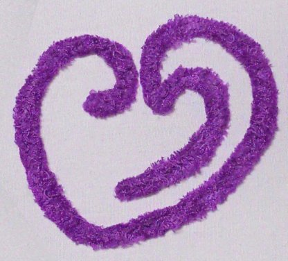 Chenille Hearts N Such No. 1