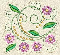 Delicate Florals No. 12