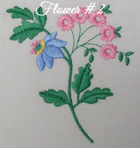 Floral Embellishments - Flower No. 2