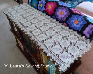 Hardanger Dimensions Table Runner
