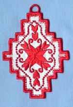 Hardanger Ornaments - Snowflake No. 2