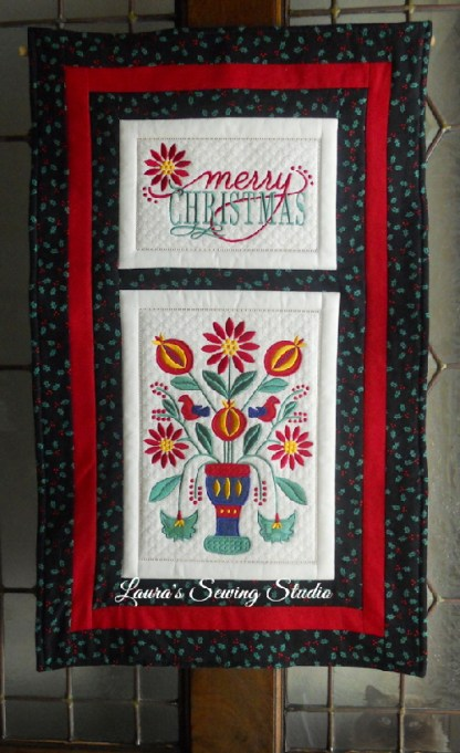 Poinsettias & Pomegranates Banner Project