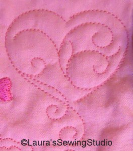 Quiltering Hearts - Quilting with your embroidery machine