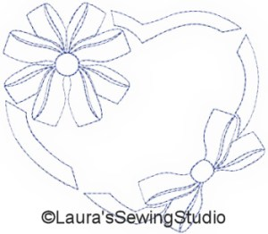 Ribbons N Bows Quiltering Set