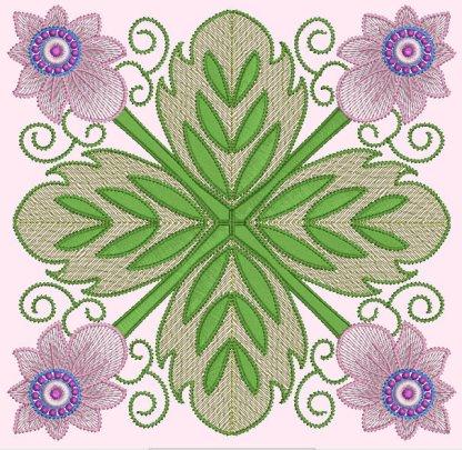 Spring Garden No. 8, in 4-by pattern
