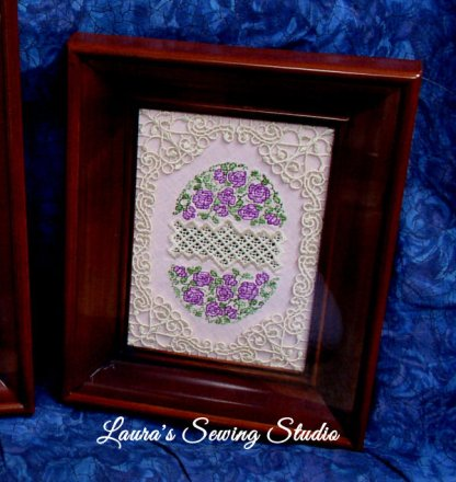 Hardanger Eggs & Beautiful Frames Fusion