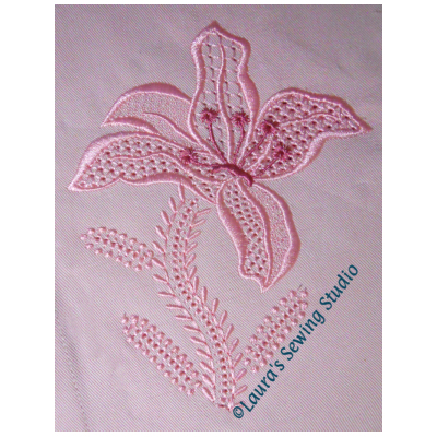 Wing Needle Lily No. 1