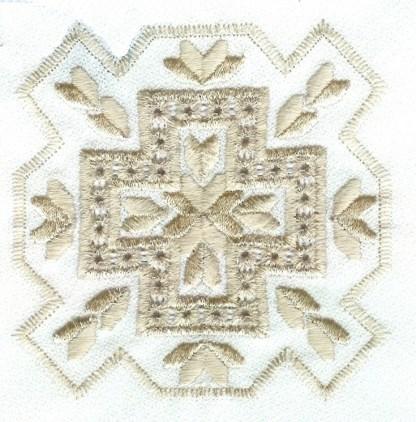 Hardanger Squared Design No. 4