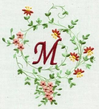 Monogram Potpourri 5x7 No. 4