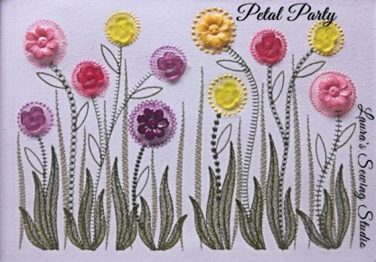 Petal Party Banner avec Buttons