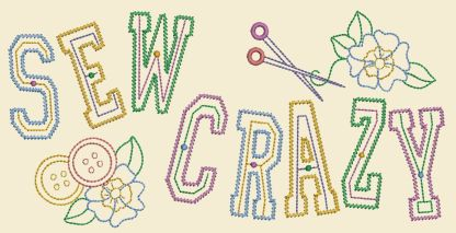 Sewing In Stitches - Sew Crazy