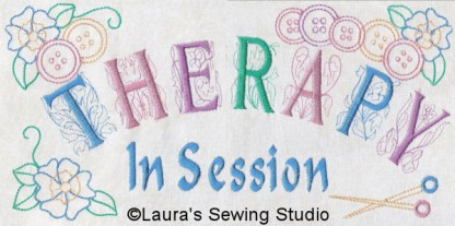 Sewing In Stitches - Therapy In Session