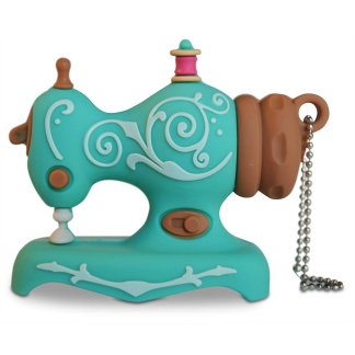 Vintage Sewing Machine 4GB USB Drive