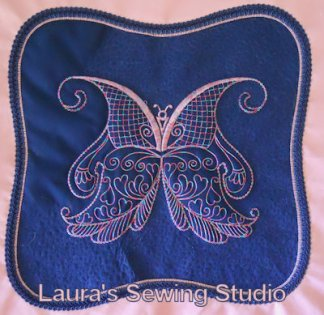 Butterfly Giants Dress Pillow Project